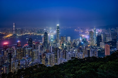 photo locations in Hong Kong - Victoria Peak