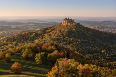 photo locations in Germany - Hohenzollern Castle