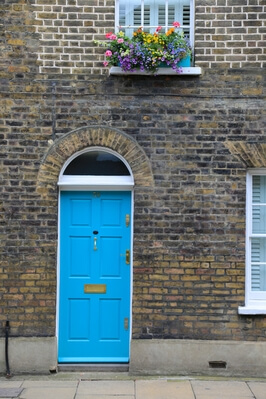 photos of London - Roupel Street Colorful Doors