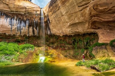 Utah photo locations - Upper Calf Creek Falls