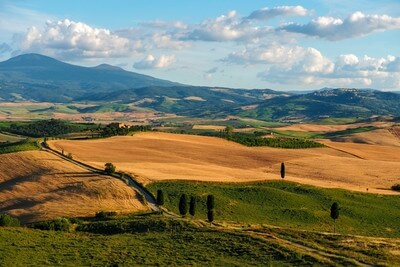 photography locations in Tuscany - Terrapille Farmhouse