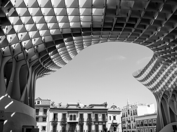 Metropol Parasol - such interesting architecture.