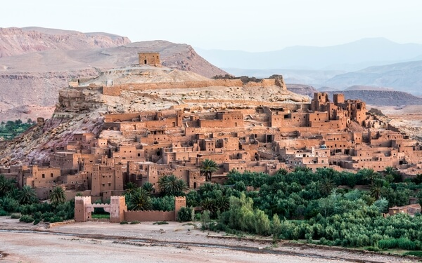 UNESCO World Heritage Listed Ait Ben Haddou