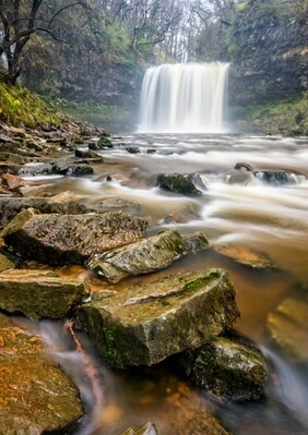 South Wales photo locations - Four Falls