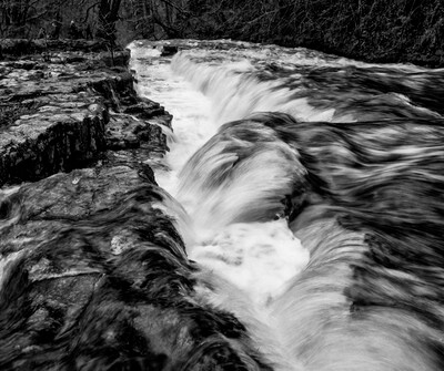 photos of South Wales - Four Falls