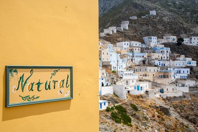 photography locations in Greece - Olympos, Karpathos