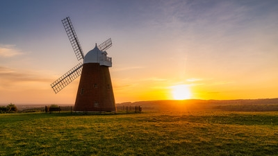 instagram locations in England - Halnaker Windmill