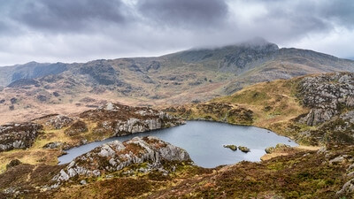 photography spots in North Wales - Cnicht - 3 tarns