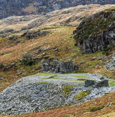 photo locations in North Wales - Cnicht - disused quarry