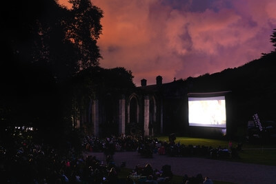 pictures of South Wales - Outdoor Cinema