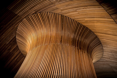 South Wales photography locations - Senedd - Interior
