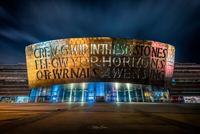 photo spots in South Wales - Millennium Centre - Exterior