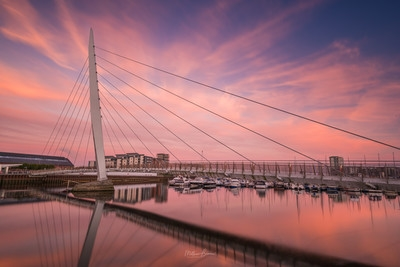 photography spots in South Wales - Sail Bridge