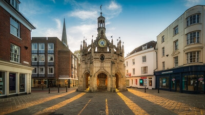 England photography locations - The Market Cross