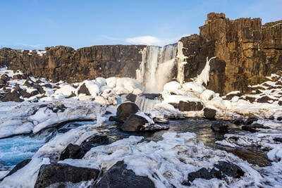 Iceland photography locations - Oxararfoss Waterfall