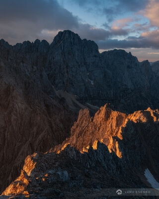 photography spots in Triglav National Park - Mt Špik Summit