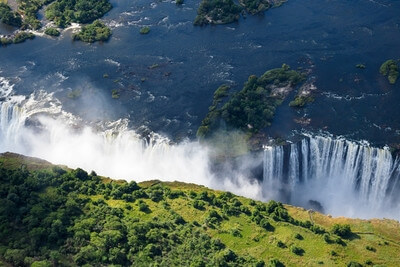 Zimbabwe photography locations - Victoria Falls from Above