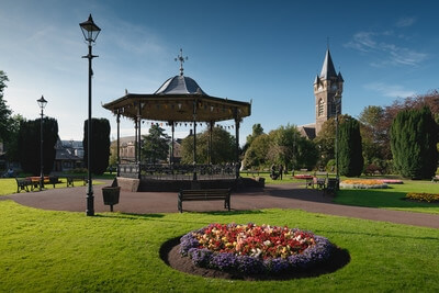 pictures of South Wales - Victoria Gardens, Neath