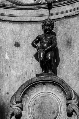 Photographing Brussels - Manneken Pis