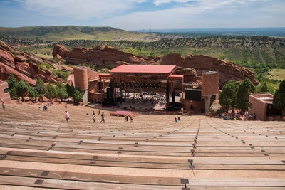 Jefferson County photo locations - Red Rocks Park & Amphitheatre