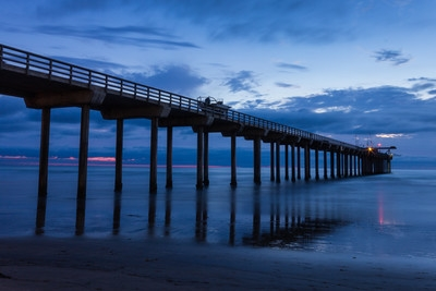 California photography locations - Scripps Pier, La Jolla