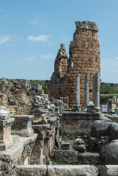 Towers of the Hellenistic Gate