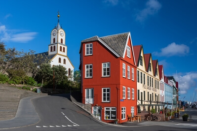images of Faroe Islands - Tórshavn old town
