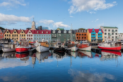 pictures of Faroe Islands - Tórshavn old town