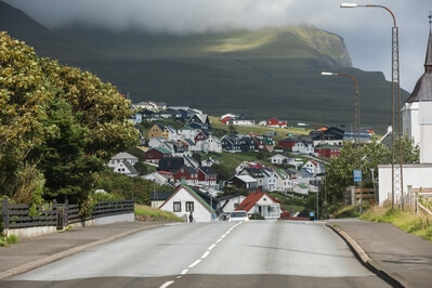 photos of Faroe Islands - Sandavágur town