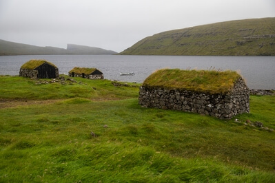 images of Faroe Islands - Fishearmans turf houses