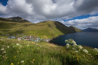 photos of Faroe Islands - Funningur town view