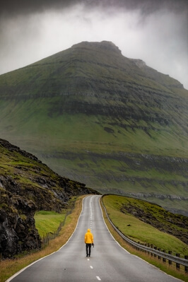 photos of Faroe Islands - Road to Funnningur