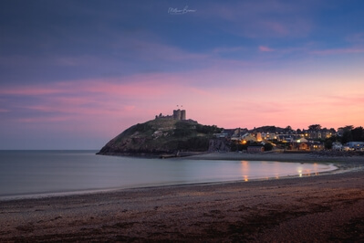 North Wales photography locations - Criccieth Beach