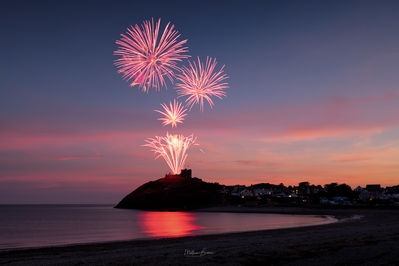 Events in United Kingdom - Criccieth Fireworks