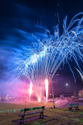 United Kingdom events - Carmarthen Park Fireworks