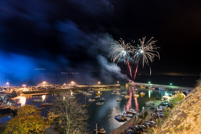 photos of South Wales - Saundersfoot Fireworks