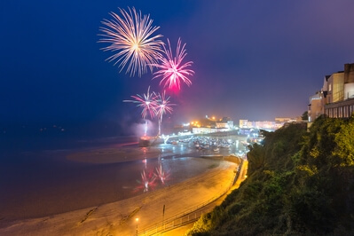 Photo events in United Kingdom - Fireworks at Tenby Harbour