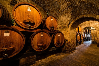 Tuscany photography locations - Cantina Contucci Montepulciano wine cellars