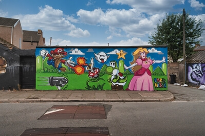 South Wales photo spots - Castle Street Murals