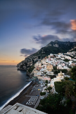 photography locations in Naples & the Amalfi Coast - Positano - view from the East