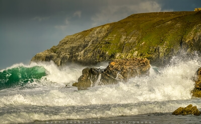 Large waves at Durness
