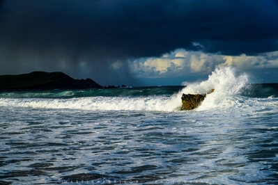 There main beach at Durness, just prior to a storm