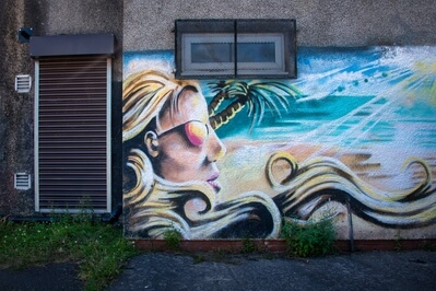 pictures of South Wales - Cwmafan Street Art