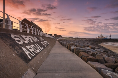 images of South Wales - Aberavon Pier