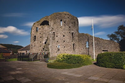 South Wales photo locations - Neath Castle