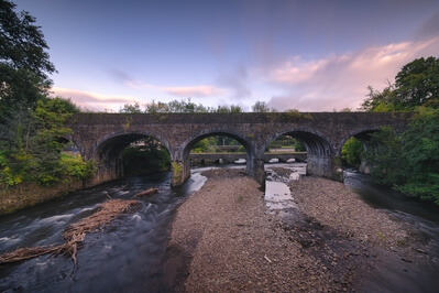 pictures of South Wales - Aberdulais Aqueduct