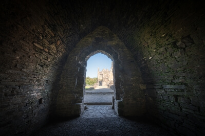 pictures of South Wales - Neath Abbey - Interior