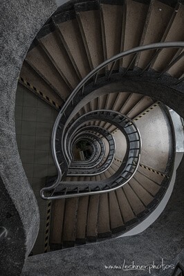Shanghai photography locations - Spiral Staircase at Laoximen Cultural Center
