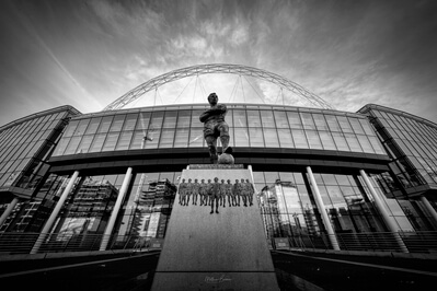 pictures of London - Wembley Stadium - Exterior