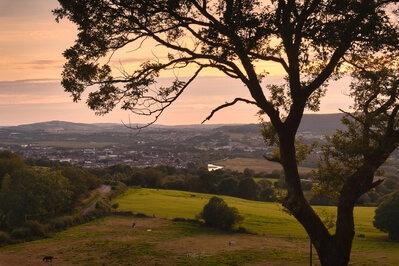 photos of South Wales - View from Tonna Bridleway
